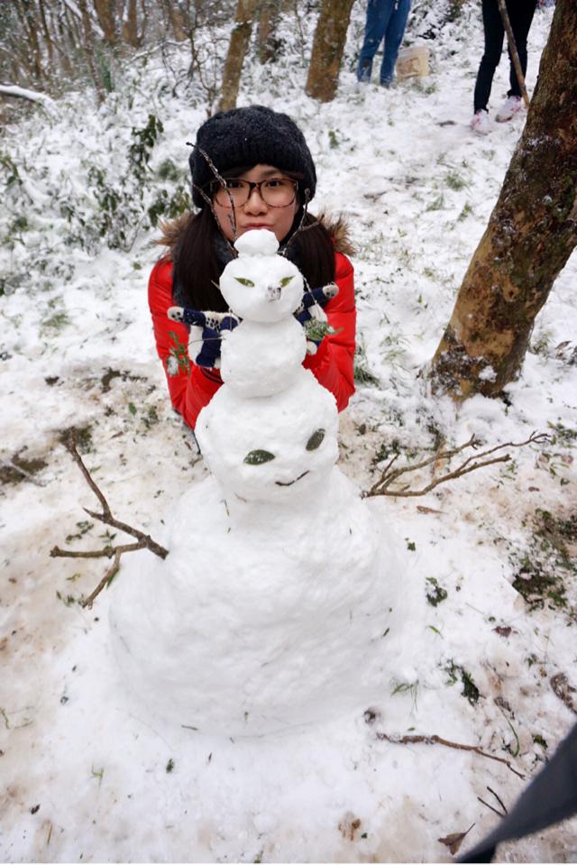 台北下雪了