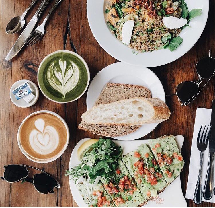 我的绿色早午餐☕️