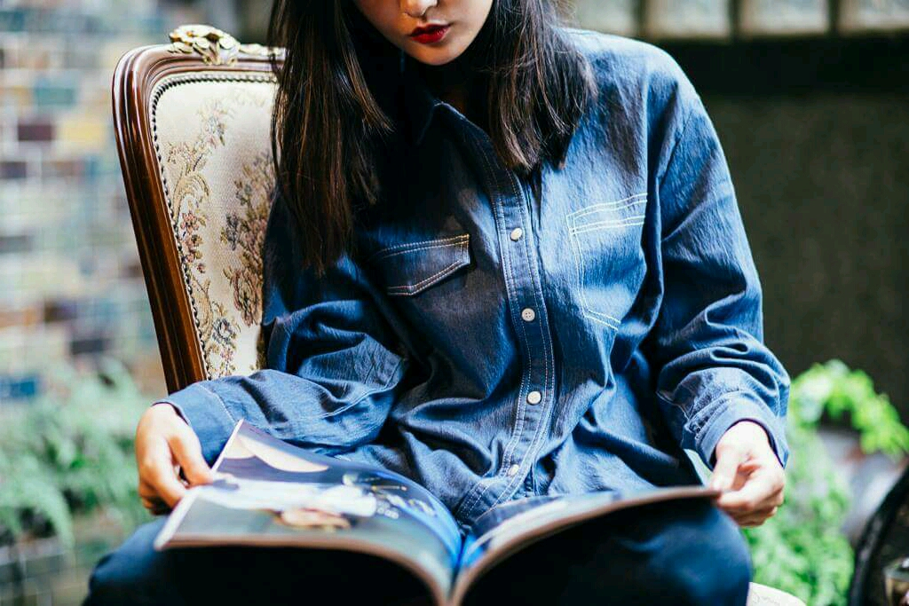 Outfit Inspiration For Gloomy Day – All Denim Style