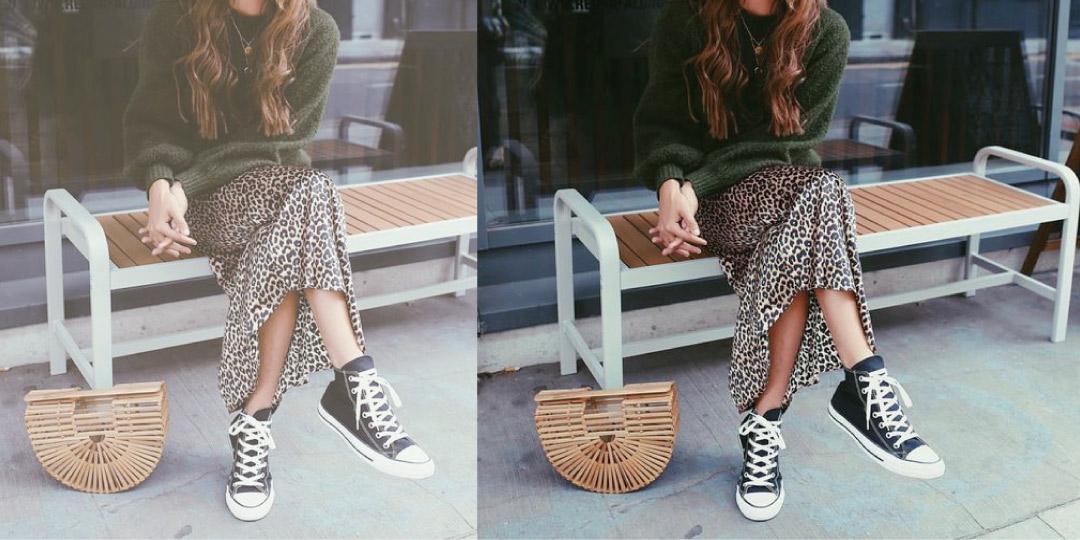 秋季pick裙子+運動鞋,你想不到的時尚感