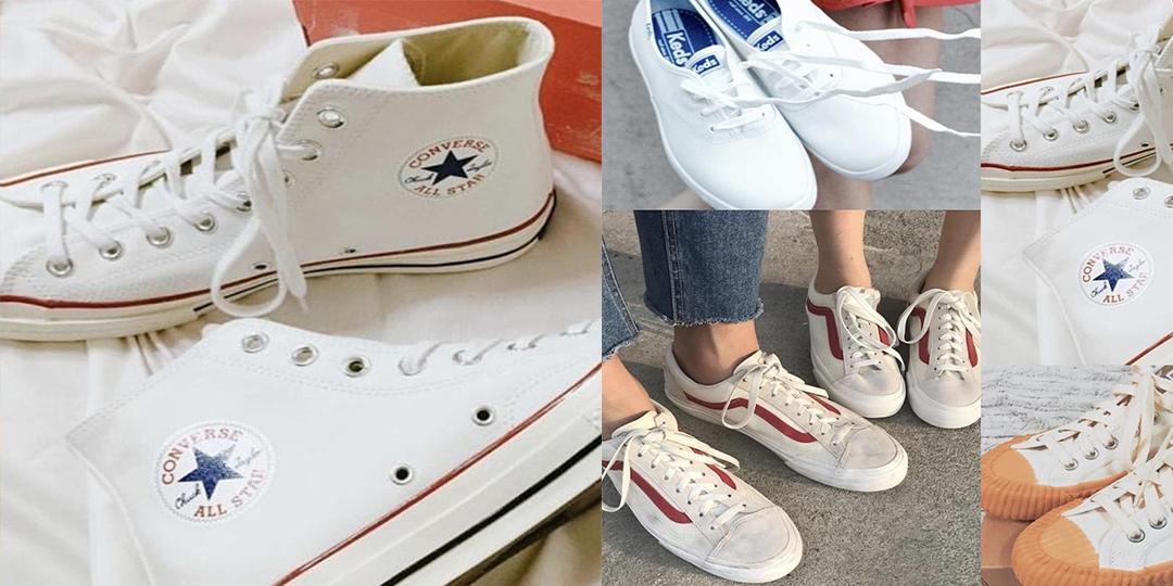 !國民級「#零失誤白鞋穿搭」要妳穿一整年也不膩!