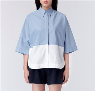 C70 Mute Shirt - Blue top