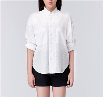 C80 Lucent Shirt - White