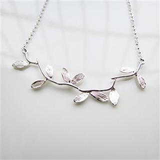 小樹枝 (純銀項鍊)