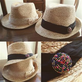 簡約加工帽-紳士版