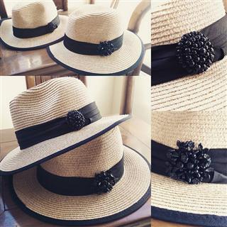 簡約加工帽-紳士優雅版
