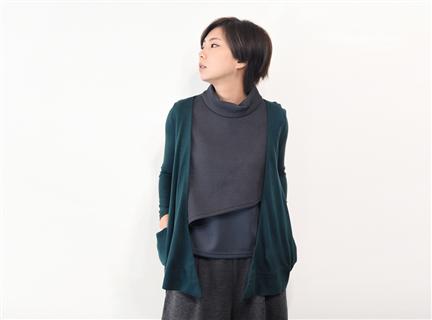 休閒罩衫(深綠)