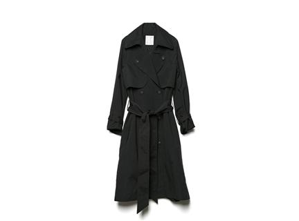 風衣外套(黑)