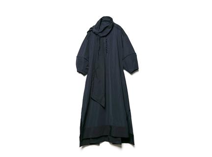 綁帶洋裝(深藍)
