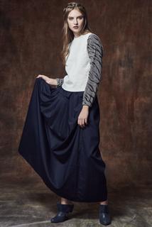 百折長裙,前口袋