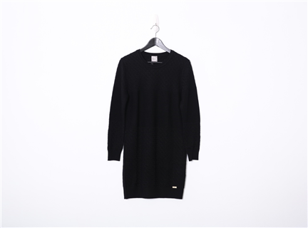 針織洋裝(黑)