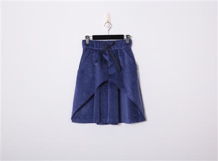 絨布褲裙(粉紫)