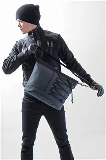 NINJA-手做帆布斜側揹/筆電包