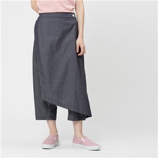 Hayden 海頓大衿低檔褲/單寧藍