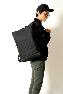 KUROSHIO CURRENT-手做防水帆布多用途/筆電包-正面