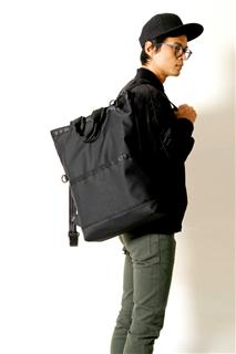 KUROSHIO CURRENT-手做防水帆布多用途/筆電包-背面