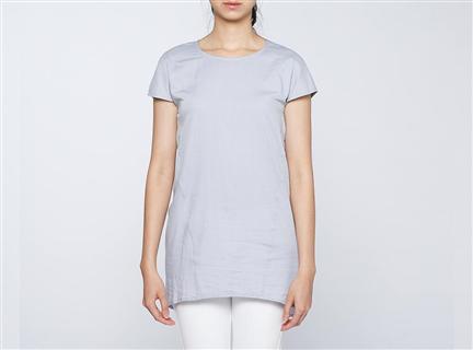 膠原蛋白拼接罩衫(灰)