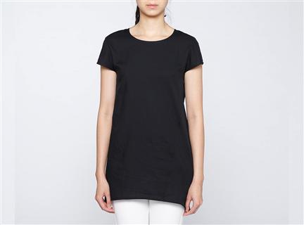 膠原蛋白拼接罩衫(黑)
